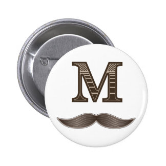 Moustache de M Badges