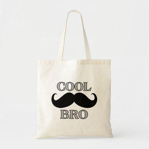 Moustache fraîche Bro Sacs De Toile