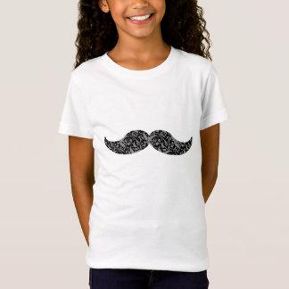 moustache mignonne de damassé T-Shirt