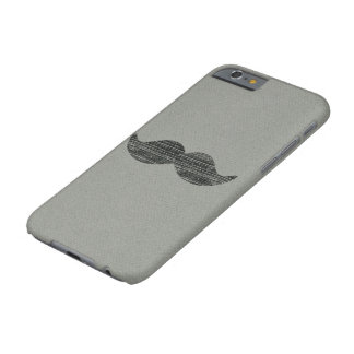 Moustache noire coque iPhone 6 barely there