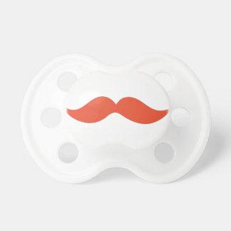 Moustache rouge tétines
