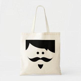 moustache sacs de toile