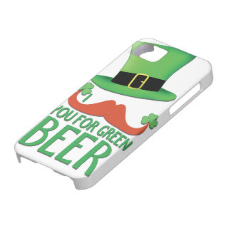 moustache vous pour le trèfle vert de moustache de coque iPhone 5