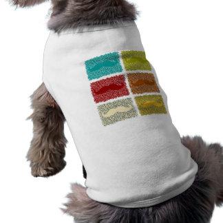 Moustaches drôles t-shirt pour chien