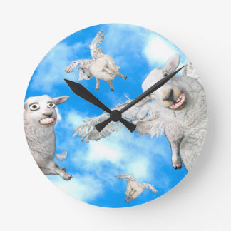 MOUTONS 1_FLYING HORLOGE RONDE