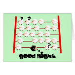 moutons de bonne nuit cartes