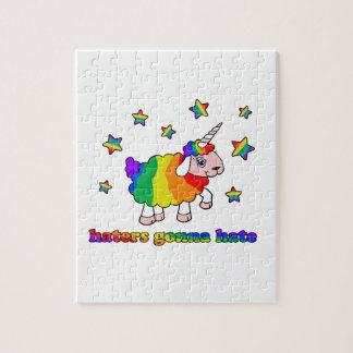 Moutons de licorne puzzle