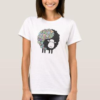 Moutons de Yin Yang T-shirt