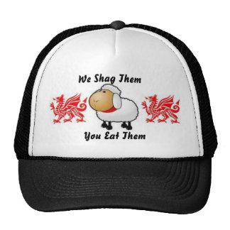 moutons, dragon, dragon, nous tapis à longs poils… casquettes de camionneur