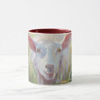 Moutons ensoleillés mug