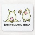 Moutons inconsidérés Mousepad Tapis De Souris