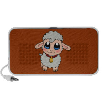 Moutons mignons haut-parleurs mp3