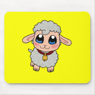 Moutons mignons tapis de souris