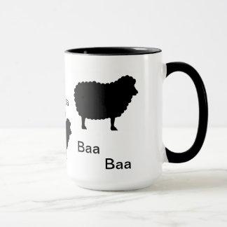 Moutons noirs de bêlement de bêlement mug