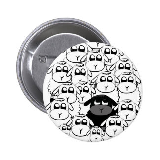 Moutons noirs pin's