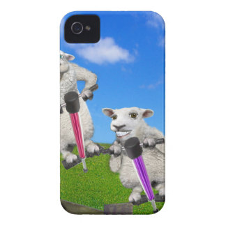 Moutons sautants coques iPhone 4 Case-Mate