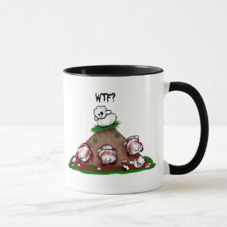 Moutons WTF de zombi ? Tasse