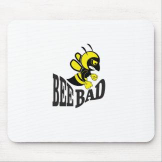 moyen du mauvais d'abeille tapis de souris