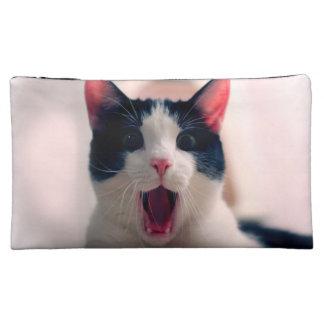 Moyenne Trousse De Maquillage Meme de chat - chat drôle - memes drôles de chat -