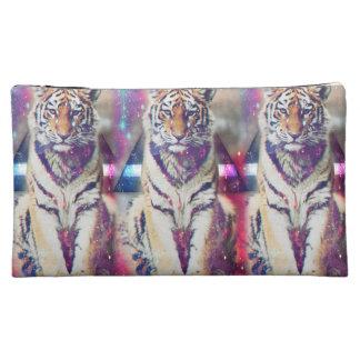Moyenne Trousse De Maquillage Tigre de hippie - art de tigre - tigre de triangle