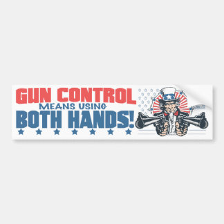 Moyens de contrôle des armes utilisant la pro vite autocollant de voiture