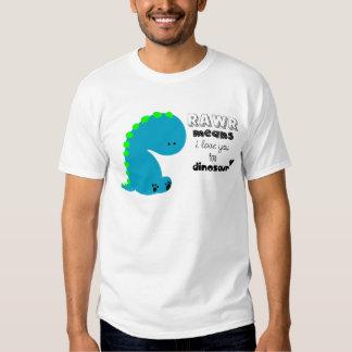 Moyens de Rawr je t'aime dans la chemise de T-shirts