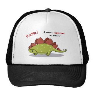 Moyens de Rawr je t'aime dans le Stegosaurus de di Casquettes