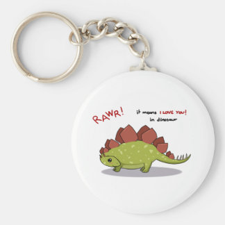 Moyens de Rawr je t'aime dans le Stegosaurus de di Porte-clé Rond