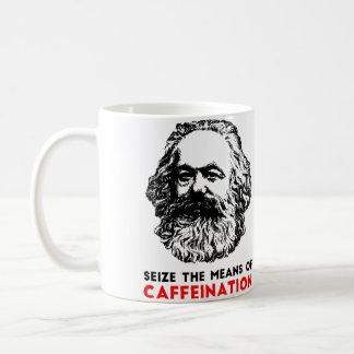 Moyens de tasse de Caffeination