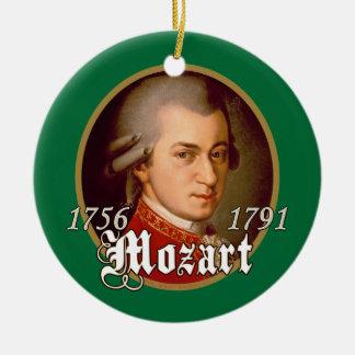 Mozart Ornement Rond En Céramique