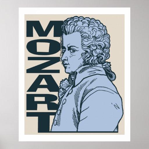 Mozart Affiches