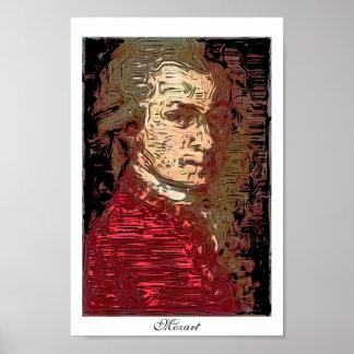 Mozart - un portrait de Digitals Posters