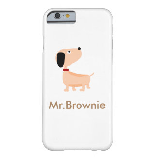 Mr.Brownie Coque iPhone 6 Barely There