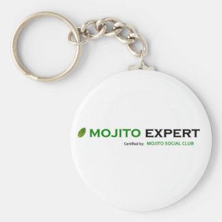 MSCMojitoExpertCertified10x10 Porte-clé Rond