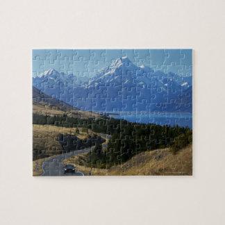 Mt. Cuisinier, Nouvelle Zélande Puzzle