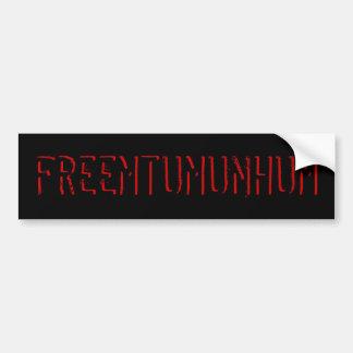 Mt. libre Umunhum Autocollant De Voiture