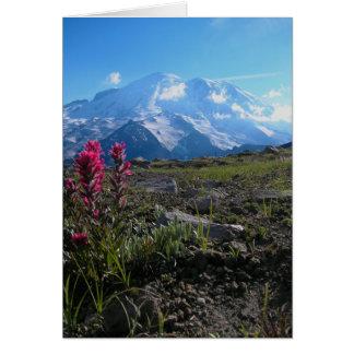 Mt plus pluvieux cartes de vœux