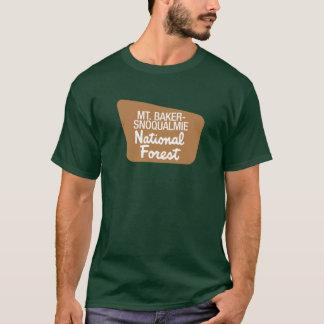 Mt. réserve forestière de Boulanger-Snoqualmie T-shirt