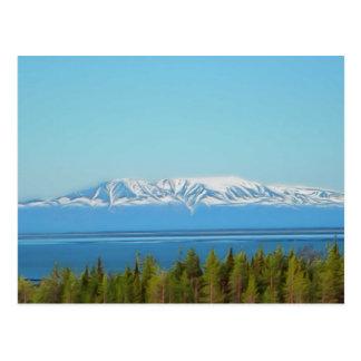 Mt. Susitna Carte Postale