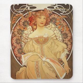 Mucha-2-1890 Tapis De Souris