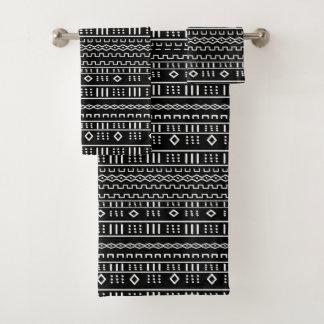 Mudcloth moderne noir et blanc