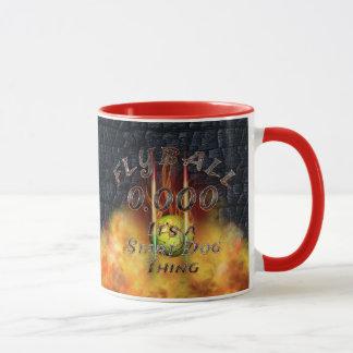 Mug 0,000 Flyball Flamz : C'est une chose de chien de