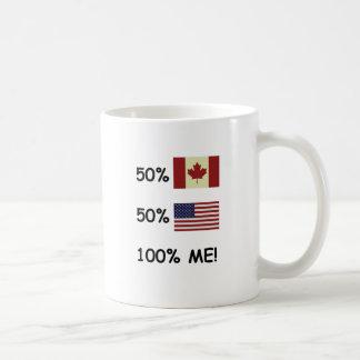 Mug 100% JE Canadien/Américain