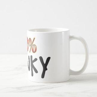 Mug 100 pour cent chancelants