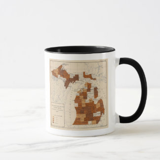 Mug 110 fièvre typhoïde Michigan