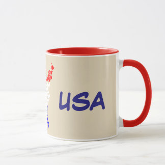 Mug 11oz coutume Etats-Unis par Zazz_it
