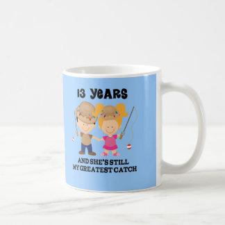 Mug 13ème Cadeau d'anniversaire de mariage pour lui