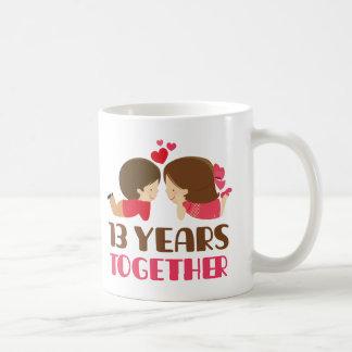 Mug 13ème Cadeau d'anniversaire pour elle
