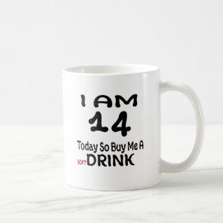 Mug 14 achetez-aujourd'hui ainsi moi une boisson