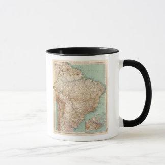 Mug 15556 Brésil, Bolivie, Paraguay, Guyane